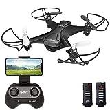 tech rc Mini Drone con Telecamera con...