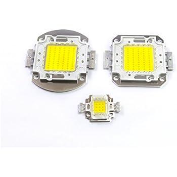 Chip power led 10w watt luce bianco freddo per ricambio fari alta luminosità