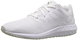 PUMA Womens Flare Leather Wns Walking Shoe, Puma White, 9.5 M US