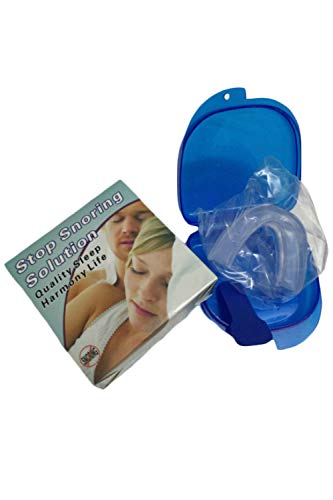 SMTD Männer und Frauen Stoppt Bruxismus Verbesserung Ihrer Schlafqualität Aufbissschiene Sicher Bequem BPA frei Anti Snore Stop Snoring Aufbissschiene