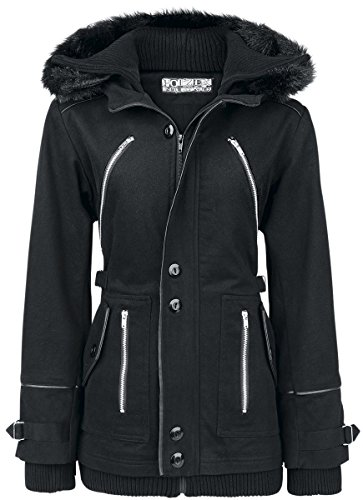 Poizen Industries Chase Coat Giacca donna nero XL