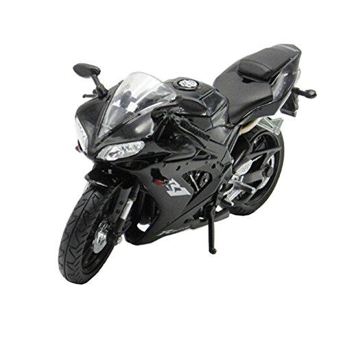 Classique alliage jouet moto ornement bon 01:12 Motor, noir
