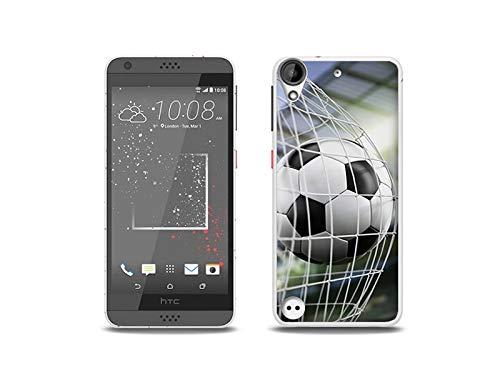 etuo Handyhülle für HTC Desire 530 - Hülle, Silikon, Gummi Schutzhülle - Tor