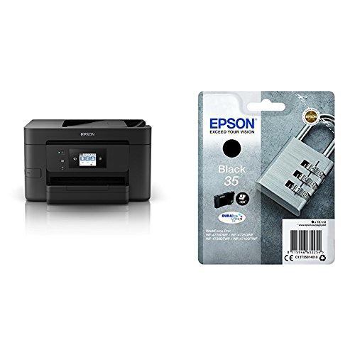 Epson Workforce Pro WF-4720DWF 4-in-1 Business Tintenstrahl-Multifunktionsgerät (Drucker, Scanner, Kopierer, Fax, ADF, WiFi, Ethernet, NFC, Duplex, Einzelpatronen, DIN A4) schwarz - Epson Drucker Handbuch