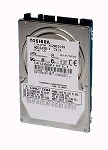 "Toshiba mK2546GSX 250Go 6,4 cm (2,5 "") sATA disque dur interne de fixation"