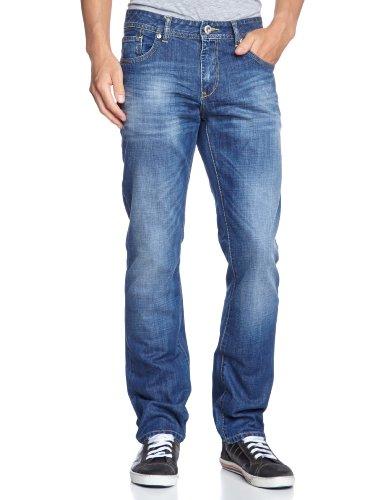 LTB Jeans Herren Straight Leg Jeans Fynn Blau (Giotto Wash 2426)