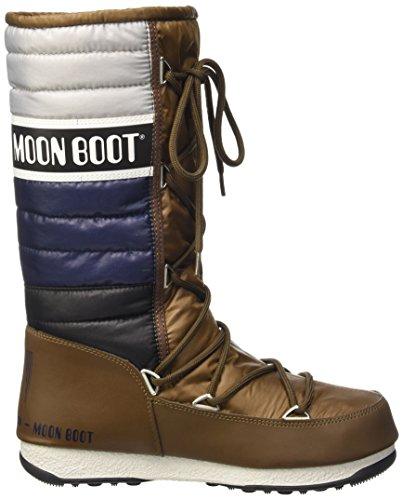 Moon Homme Blu Taille W Rosso E Bronzo Multicolore Multicolore Bianco Boot Quilted Grigio Blu rwH7qarI