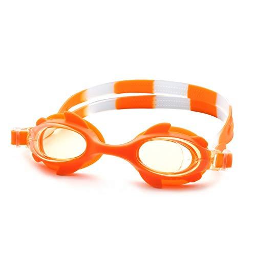 MHP Professionelle Baby-Schutzbrillen für Kinder, Flache, wasserdichte, beschlagfreie, beschlagfreie Schutzbrille, orange