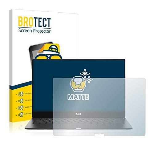 BROTECT Schutzfolie Matt kompatibel mit Dell XPS 13 9370 - Anti-Reflex, Anti-Fingerprint, Anti-Kratzer