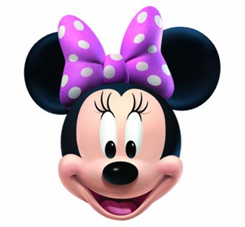 Star Cutouts Bedruckte Gesichtsmaske von Minnie Maus