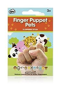 NPW-Juego de Marionetas de Dedo Infantil Safari/Animales de Granja marioneta de Dedo Mascotas