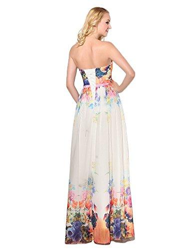 Ikerenwedding Damen Kleid Small Mehrfarbig