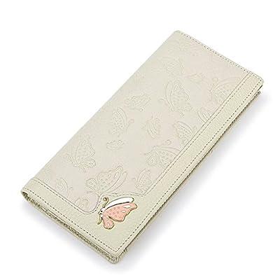 ZLR Mme portefeuille Porte-monnaie à long portefeuille Multi-carte Multi-carte Portefeuille à 2 points pliés
