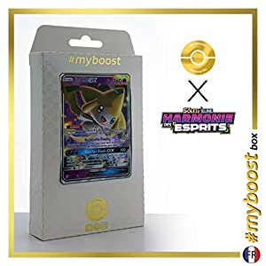 Jirachi-GX 79/236 - #myboost X Soleil & Lune 11 Harmonie des Esprits - Box de 10 cartas Pokémon Francés