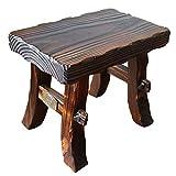 YXX- Home Retro Holzleiter Kleine Fußhocker Küche Holz Tritthocker Fußbank Schuhbank Für Wohnzimmer Sofa