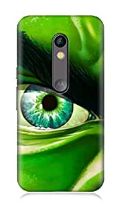 Motorola Moto X Play 3Dimensional High Quality Designer Back Cover by 7C