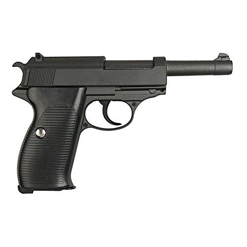 AIRSOFT Galaxy Typ Walther P38Full Metal gefedert Full Metal gefedert/Spring/Aufladung Handbuch (0,4Joule)