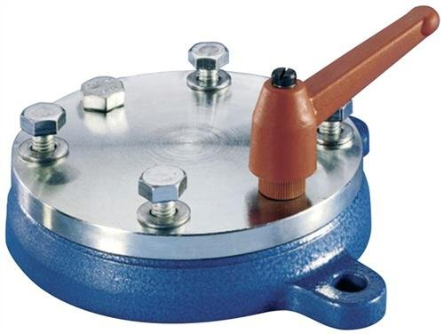 PROMAT Drehteller Stahl für B.100mm 360Grad Drehung für Schraubstock