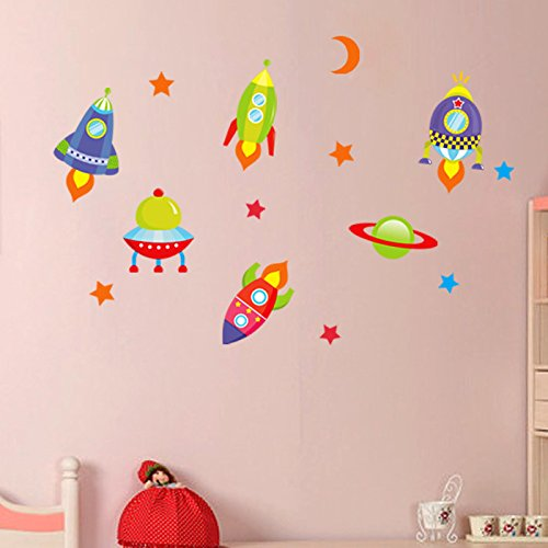 zooarts-rocket-moon-stars-and-ufo-removable-space-nursery-wall-sticker-decals-vinyl-decor-kids-child