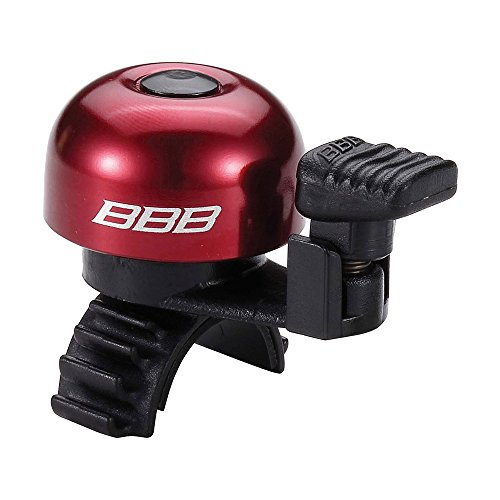 BBB Easyfit Bicycle Bell, Red