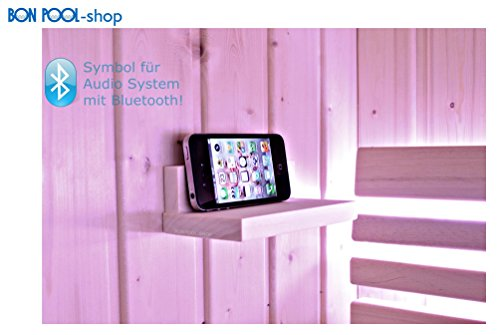 BON POOL Sauna Audio System mit Bluetooth Infraworld