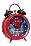 Die besten Spiderman Wecker - Spider-Man Wecker The Ultimate Spiderman Twinbell Alarm Clock Bewertungen