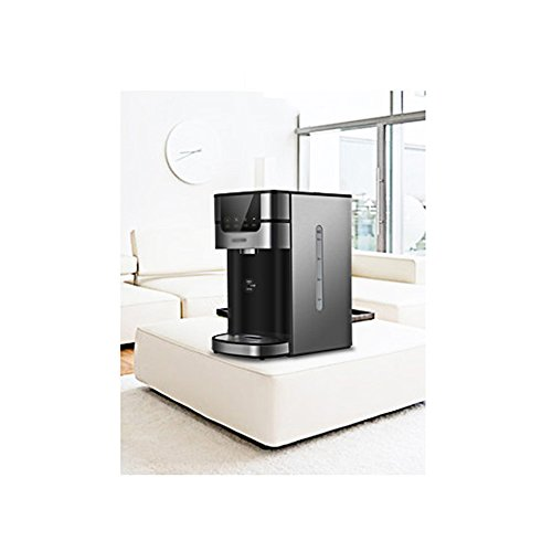 Kettle ZHIRONG Stainless Steel Electric LCD High-definition Screen Display Four-stage Temperature Control 4.0L Black 2200W Speed Hot Filtration