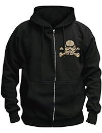 STAR WARS Death Trooper - chaqueta con cremallera con capucha negro