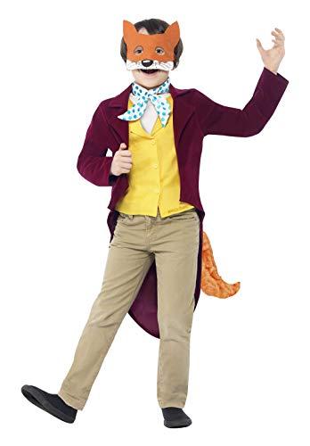 Fox Fantastisch Kostüm - Fantastisch Herr Fox - Roald Dahl - Kinder Kostüm - Kleine - 128cm - Alter - 4-6