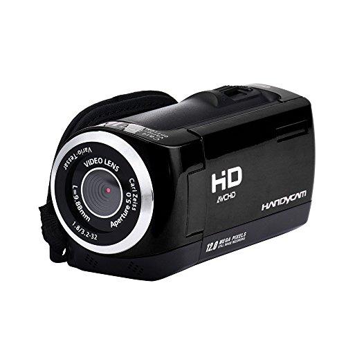 "Preisvergleich Produktbild kingko® Neue 2, 8""TFT LCD 16MP HD 720 P Digital Video Recorder Kamera 16x Digital ZOOM DV (Schwarz)"