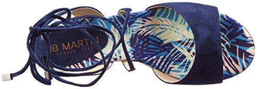 De Palma Flo Vel Jb Plataforma Mujer T V c De Martin Oce Sandalias Maud Oce Azul Cuello g66Z8fPHq