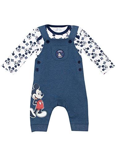 Disney - Conjunto de Peto para Niños Bebés - Mickey Mouse - 6 - 9 Meses
