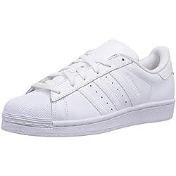 adidas Superstar Foundation, Zapatillas Unisex infantil, Blanco (FTWR White/FTWR White/FTWR White), 38 EU