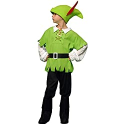 Boys Toys Disfraz de arquero para niño, talla 5-6 años (STDO4/6)