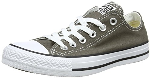 Converse Chuck Taylor All Star Seasonal Ox, Unisex-Erwachsene Sneakers, Grau (Charcoal), 40 EU