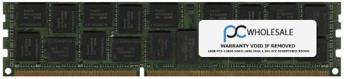 HP 713985-b21-16 GB PC3-12800 DDR3-1600 2Rx4 1,35 V ECC Registriert RDIMM (Third Party) - B21 Ram-speicher