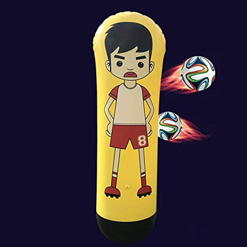 arer Fußball-Trainings-Tor-Wächter-Spalten-Stand-Trommel-Fußball-Zug-Attrappe für Kind-Erwachsenen ()
