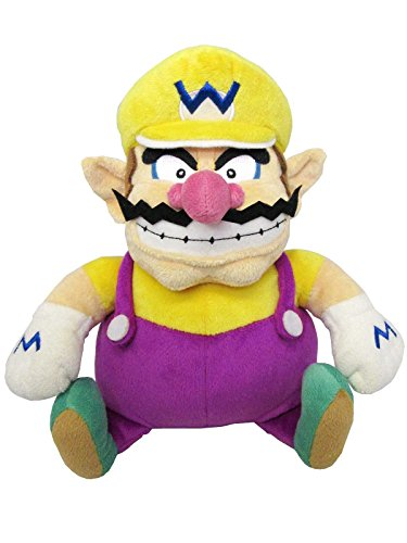 Super Mario - Wario Plush - All Star Collection - 25cm 10""