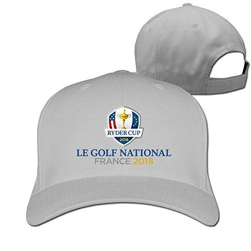 YUVIA For Men Women Baseball-caps Cricket Cap Ryder Cup Cap Hats Black