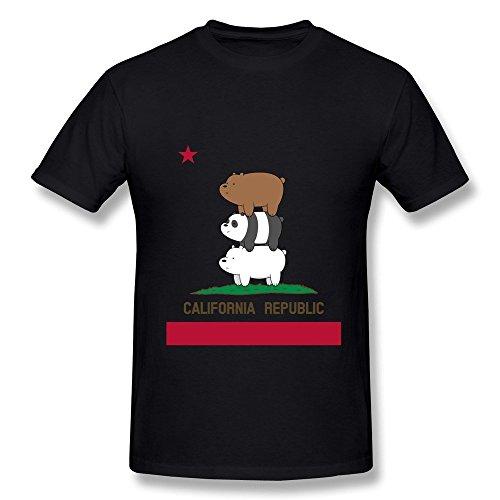 Dzzlee Clothes Herren T-Shirt Gr. S, Schwarz - Schwarz