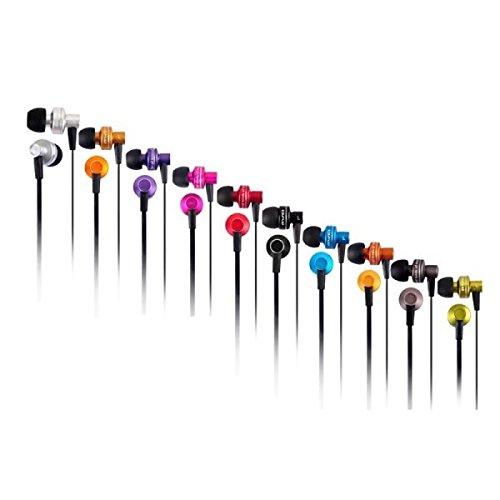Typ:Kopfhörer (Ohrhörer, In-Ohr),Anschluss:Mit Kabel,Stil:In-Ohr,Eigenschaften:Rauschunterdrückung, Ohrstöpsel, Lautstärkeregelung, Mikrofon,Farbe:Gelb, Silber, Rot, Lila, Orange, Grün, Grau, Blau, Schwarz,Design:Metall,Input (mm):3.5,Kabellänge (cm)...