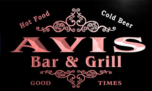 u01707-r-avis-family-name-bar-grill-cold-beer-neon-light-sign-barlicht-neonlicht-lichtwerbung