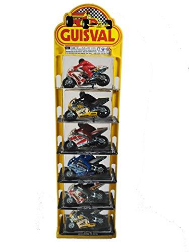 Guisval Set de 6 Piezas, Moto Competición Faseba 16147