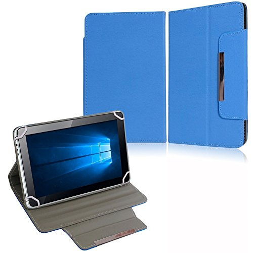 NAUC Tasche Hülle Schutzhülle für XORO TelePAD 10A3 Case Cover Bag Schutz Etui, Farben:Blau