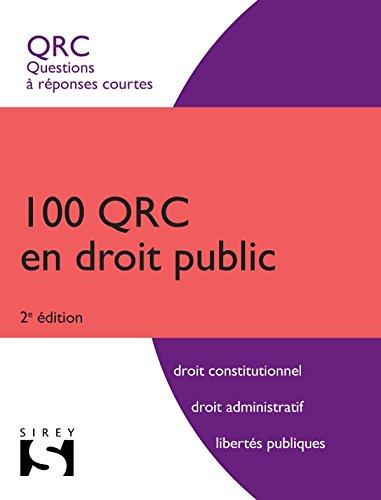100 QRC en droit public - 2ème édition