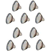 (ZMW) 3W GU5.3(MR16) Focos LED MR16 18 SMD 2835 300 lm Blanco Cálido Decorativa V 10 piezas