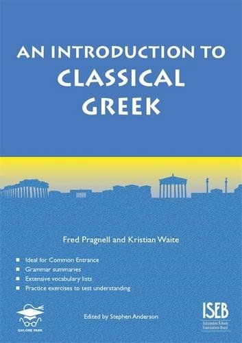 An Introduction to Classical Greek (Level 1/2)
