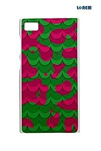 Lorem Back Cover For Xiaomi Mi3 -Multicolor-L14954
