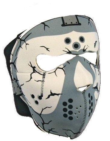 Maske Sturmhaube Tribal Halsumfang Neopren Airsoft Paintball Ski Snow Quad Moto