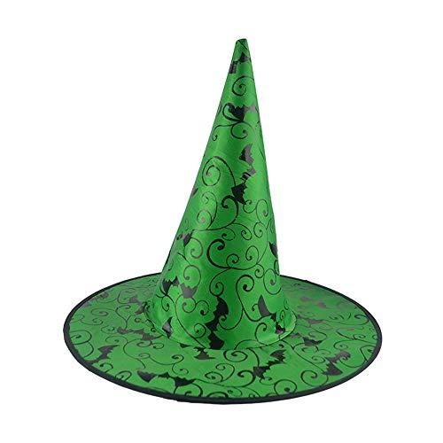 Garde Kostüm Grüne Für Erwachsene - Zottom Hexenhut der Schläger-Erwachsenen Frauen 1Pcs für Halloween-Kostüm-Zusatz